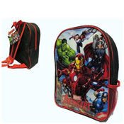 Official Avengers Backpack With Mesh Side Pocket