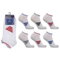 Mens Performax Trainer Socks Middle Stripe