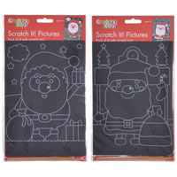 Christmas Scratch Art Set