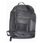 Official JCB Front Zip Compartment Backpack Black
