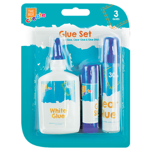 3 Piece Glue Set