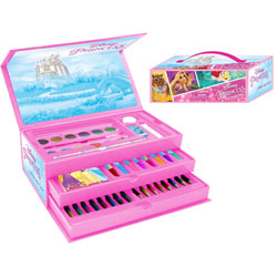 Disney Princess 52 Piece Stationery & Art Set