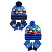 Official Thomas & Friends Bobble Hat & Gloves Set