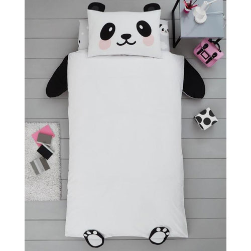 Creative Novelty Shaped Duvet Reversible - Panda