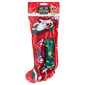 Christmas Dog Toy Stocking