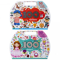 Die-Cut Activity Book With Stickers