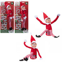 Bend And Pose Deluxe Felt Posable Elf