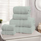 6 Piece Hotel Quality Towel Bale Duck Egg