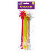 Pineapple Party Mixer Sticks 10 Pack
