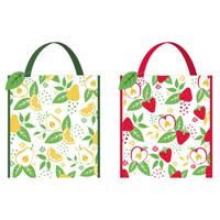 Strong Woven Shopping Bag Fruit Design