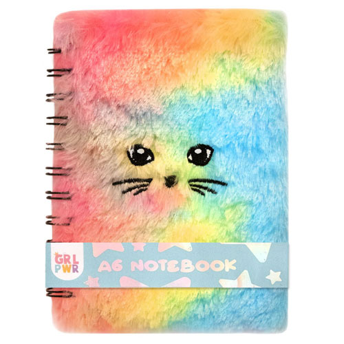 A6 Fluffy Pastel Note Book
