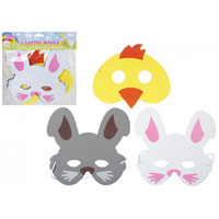 Pack of 3 Eva Easter Masks