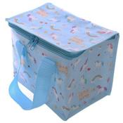 Woven Lunch Box/Cool Bag Unicorn Print