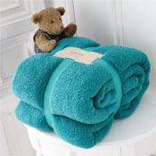 Luxurious Super Soft Teddy Throw Teal