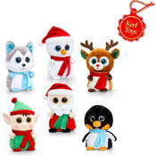 Mini Motsu Christmas Soft Toys