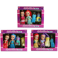 Dress Me Up Sisters Doll Set