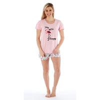 Ladies Today Will Be Flamazing Short Pyjama Set