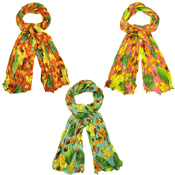 Assorted Balearic Style Scarves