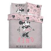 Official Minnie Mouse Kind Reversible Duvet Set