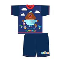 Official Boys Toddler Hey Duggee Shortie Pyjamas