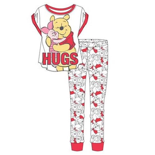Official Ladies Winnie The Pooh Pyjama Set
