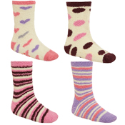Ladies Super Soft Lounge Socks