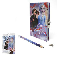 Official Frozen 2 Lockable Diary Set