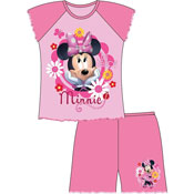Girls Toddler Minnie Mouse Shortie Pyjamas