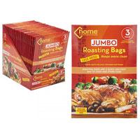 Jumbo Oven Roasting Bags With Twistee Ties
