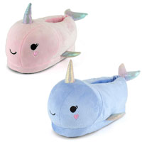 Kids Narwhale Slippers