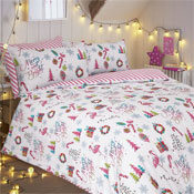 Merry & Bright Christmas Duvet Set