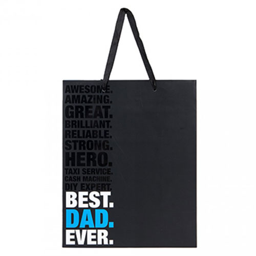 Best Dad Ever Gift Bag Small