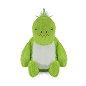 3D Plush Green Dinosaur Hot Water Bottles