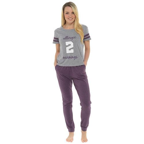 Ladies Allergic 2 Mornings Pyjama Set