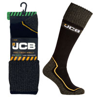 JCB 1 Pair Mens Pro Tech Welly Sock 6-8.5