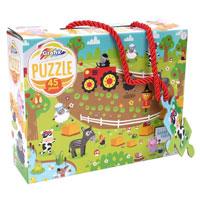 45 Piece Oakapple Farm Puzzle