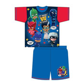 Boys Toddler PJ Masks Shortie Pyjamas