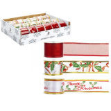 Patterned Deluxe Ribbon 3 Assorted Designs