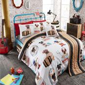 Bed in a Bag Set Pug Fashion