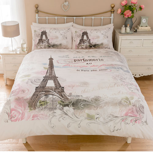 Signature Collection Paris Panel Duvet Set