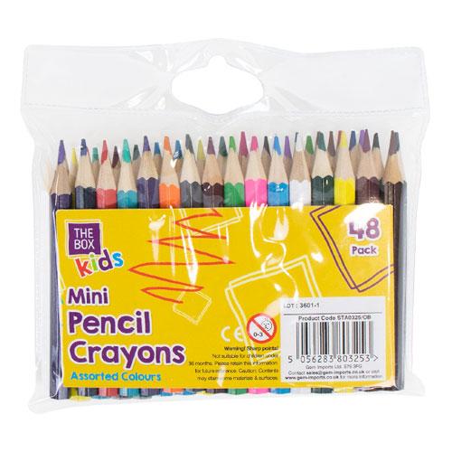 Mini Colouring Pencils 48 Pack