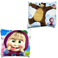 Official Masha And The Bear Cushion