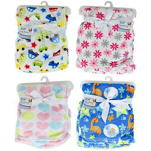Baby Blanket Assorted Designs