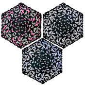 Ladies Butterfly Print Supermini Umbrella