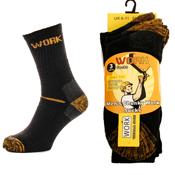 Mens Chunky Work Socks