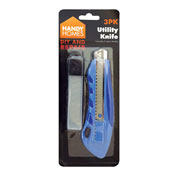 Utility Knife with Spare Blades