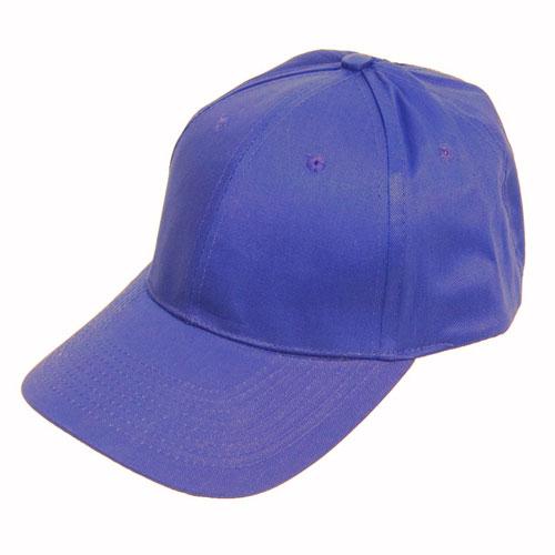 6 Panel Baseball Cap Royal Blue