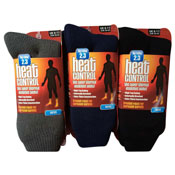 Mens Heat Control Thermal Socks With Gripper 2.3 TOG