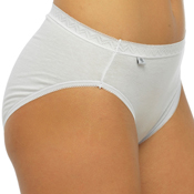 Ladies High Leg Briefs 2 Pack