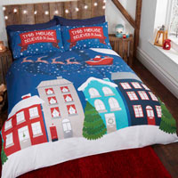 Christmas Duvet Set Glow in the Dark Midnight At Christmas